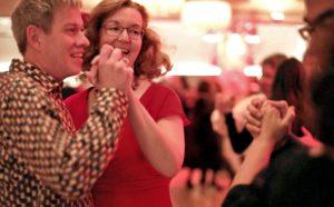 Tanzende Tanzlehrer