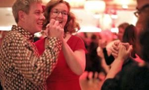 Tanzlehrer Katrin und Andreas