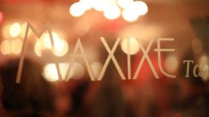 MAXIXE Fenster mit Logo