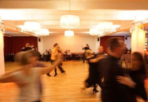 Tanzabend im großen Saal